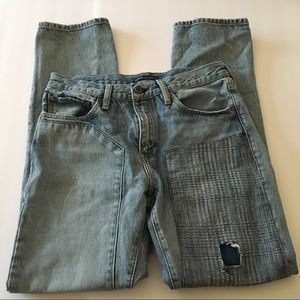 Levi's Jeans - Levi's made & crafted patchwork jeans